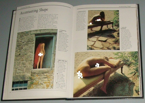 livro figures & form  photographing the nude ( inglês )