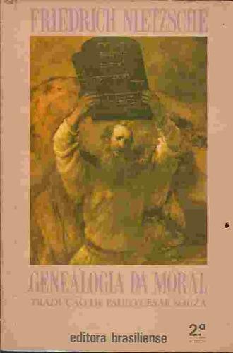 livro - filosofia - genealogia da moral