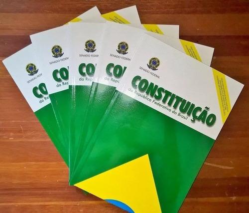 livro físico - constituição federal oficial 2017 concursos