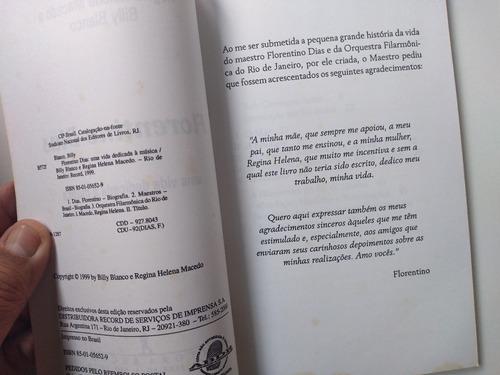 livro - florentino dias - billy branco e regina helena maced
