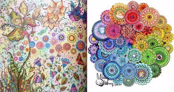 Livro Floresta Encantada Livro De Colorir Antiestresse R 27