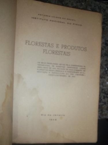 livro  florestas e produtos florestais  virgilio gualberto
