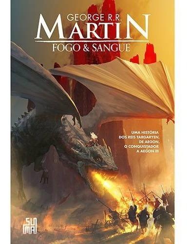 livro - fogo & sangue - promoção envio r$12,00