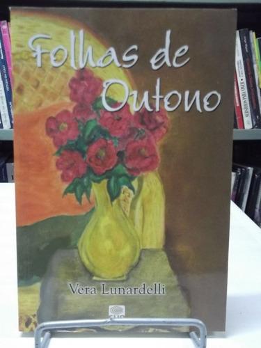 livro - folhas de outono - vera lunardelli