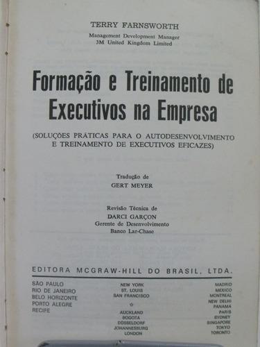 livro: formação e treinamento de executivos na empresa