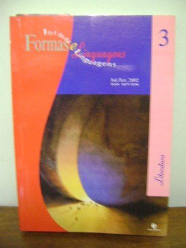 livro formas e linguagens ano 1 n. 3 jul set 2002 literatura