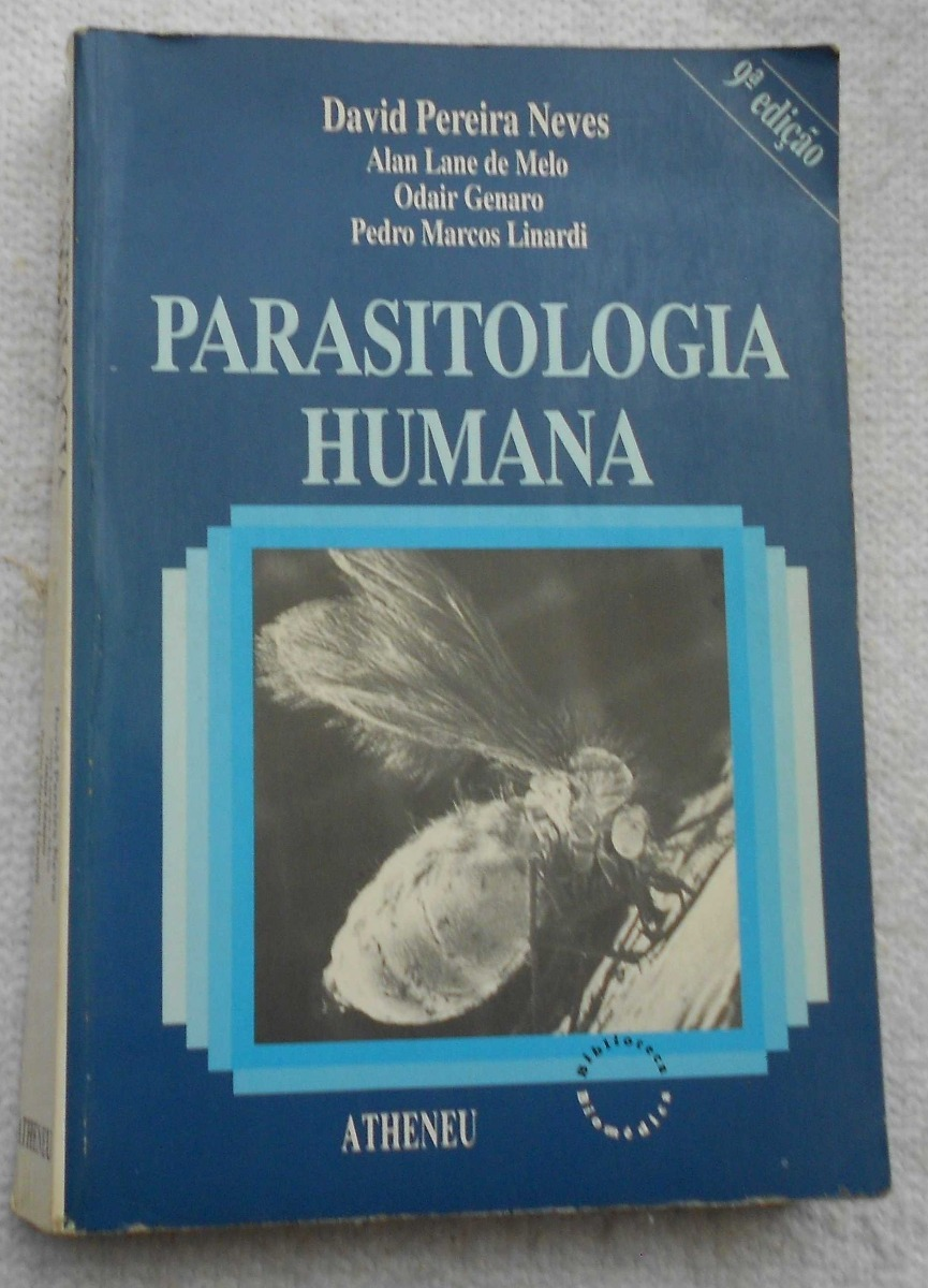 o livro parasitologia humana de david pereira neves