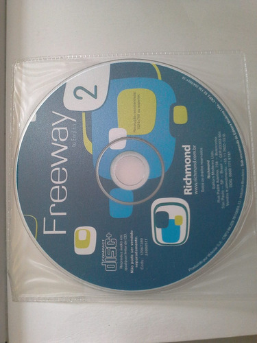 livro - freeway to english - level 2 (student's book +cd-rom