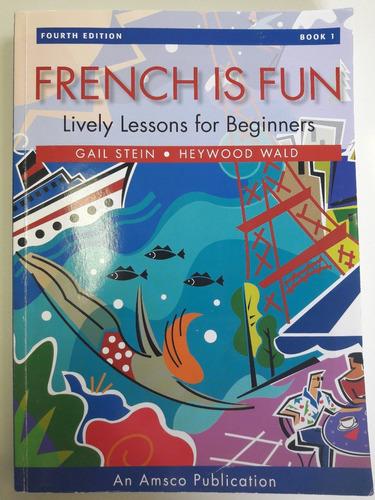 livro french is fun - para aprender francês