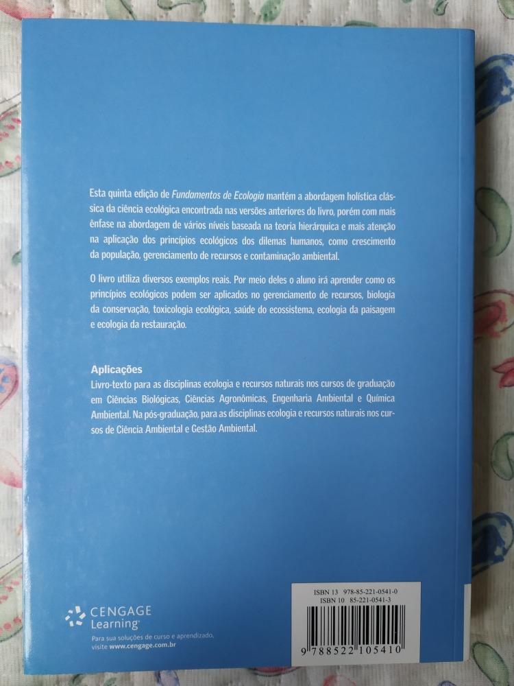 livro de ecologia odum para