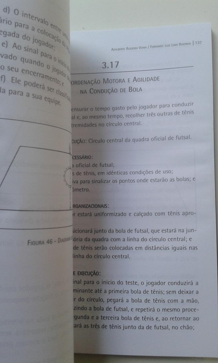 livro - futsal avaliação técnica - adalberto rigueira viana. Carregando  zoom. 572c88dc42283