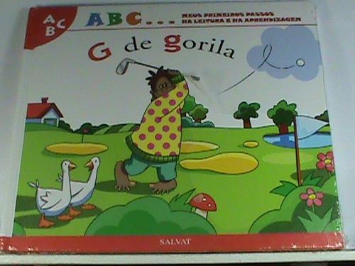 livro - g de gorila (novo - original- lacrado)