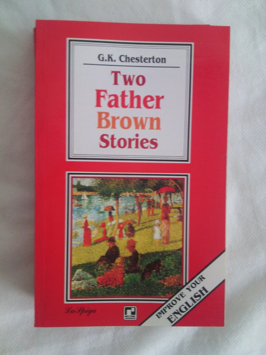 Livro G K Chesterton Two Father Brown Stories English Book