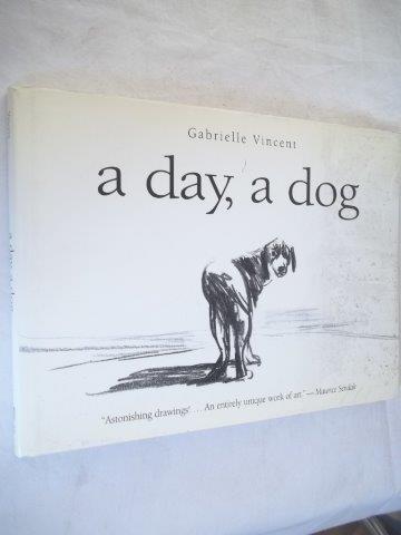 *livro - gablielle vincent - a day,a dog - artes