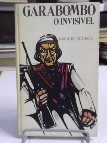 livro - garabombo o invisível - manuel scorza