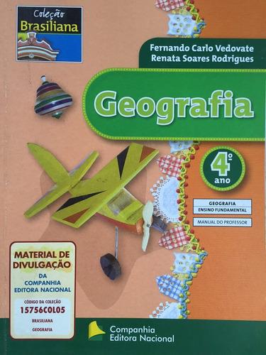 livro geografia 4ºano, coleção brasiliana