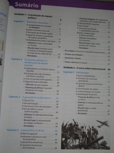 livro geografia ensino médio