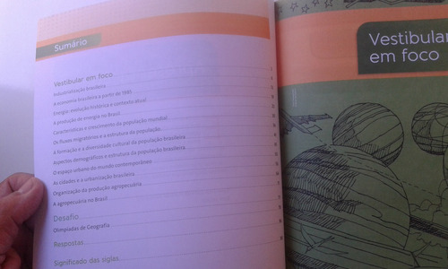 livro geografia ensino médio caderno de estudo parte 3 múlti