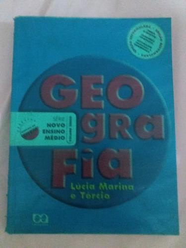livro geografia lúcia marina e tércio