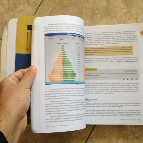 livro geografia para ensino médio geral e do brasil c2