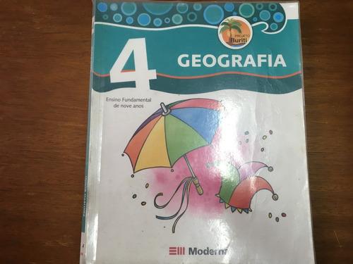 livro geografia projeto buriti 4  ensino fundamental