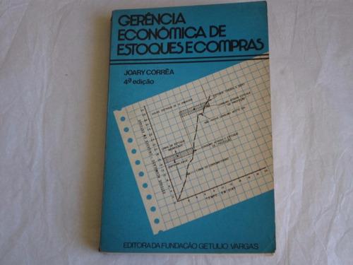 livro gerencia economica de estoques e compras joary correa