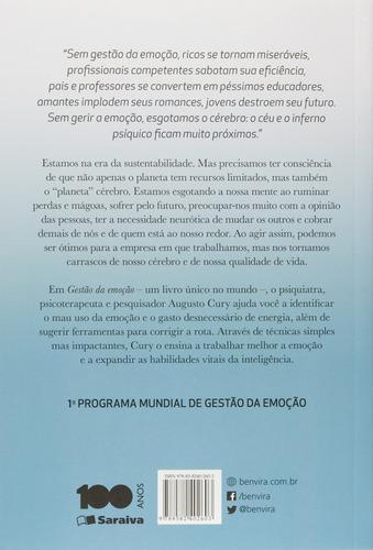livro - gestão da emoção - por augusto cury