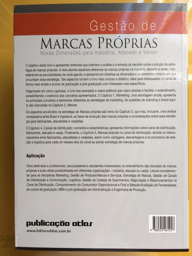 livro gestão de marcas próprias - branding - varejo - novo