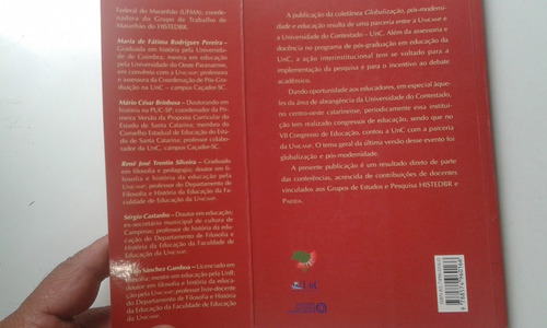 livro - globalização pós-modernidade e educação - lombardi