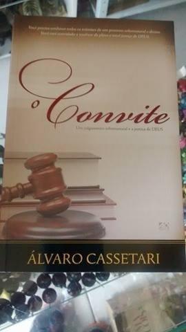 livro gospel - o convite álvaro cassetari