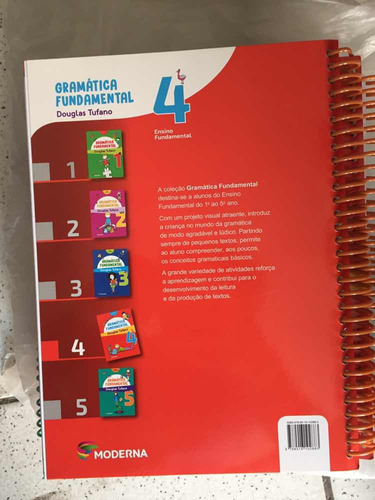 livro gramática fundamental 4 douglas tufano novo