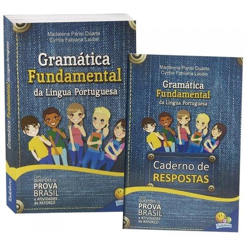 livro gramática funtamental da lingua portuguesa todolivro