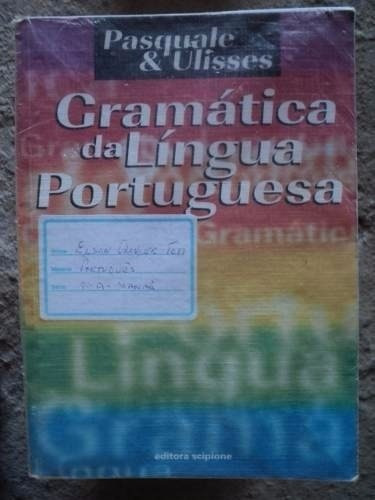 livro - gramática língua portuguesa - paquale & ulisses f33