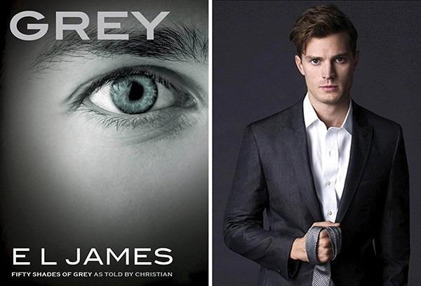 Livro Grey 50 Tons De Cinza Pelos Olhos De Christian - R