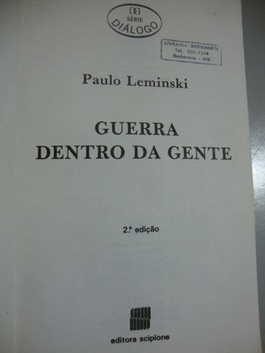 livro guerra dentro da gente - paulo leminski