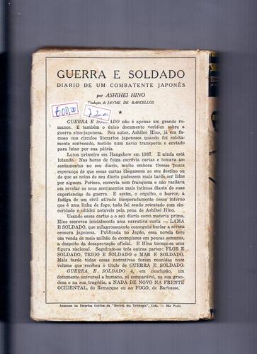 livro guerra e soldado diário de um combatente japonês