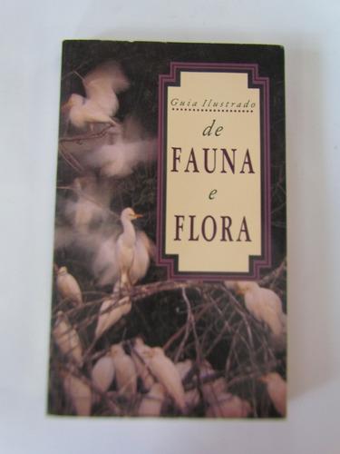 livro guia ilustrado de fauna e flora