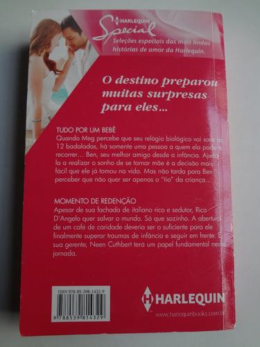 livro harlequin special 2 historias ed. 89