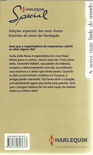 livro harlequin special a noiva mais linda do mundo ed.77