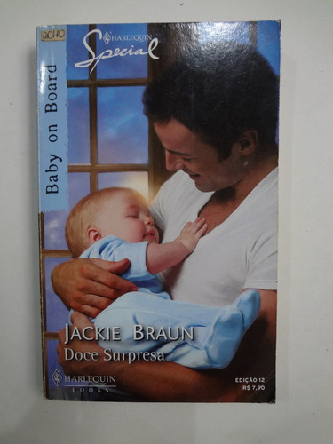 livro harlequin special baby on board ed. 12