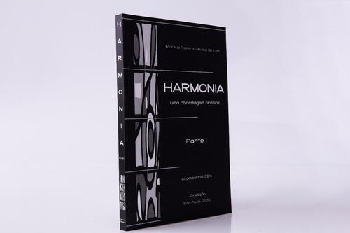 livro harmonia -  parte 1 c/ 2 cds - marisa ramires