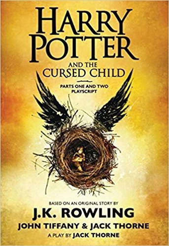 livro harry potter and the cursed child