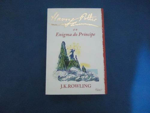 livro harry potter e o enigma do principe - jk rowling