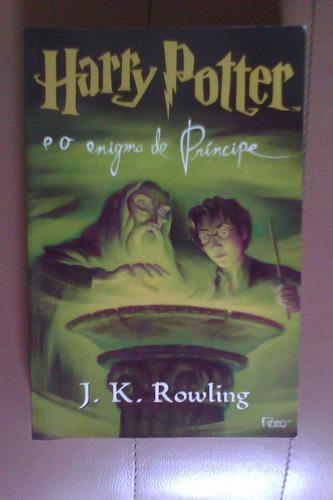 livro harry potter e o enigma do príncipe j.k. rowling