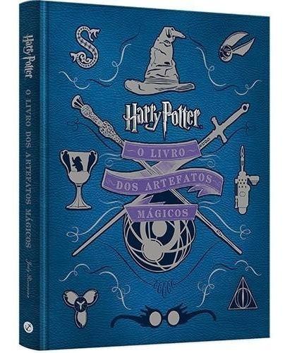 livro - harry potter: o livro dos artefatos mágicos