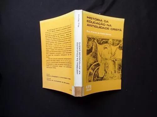 livro-história da educação na antiguidade cristã
