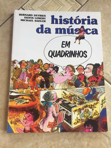 livro história da música em quadrinhos bernard deyries f263