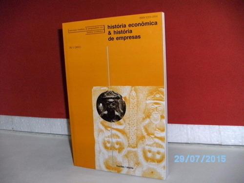 livro história econômica e história de empresas v.1,1998- fj