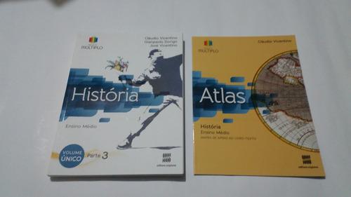 livro historia projeto multiplo 1,2,3