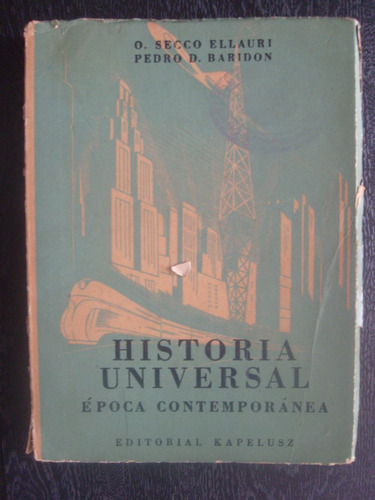 livro - história universal época contemporânea